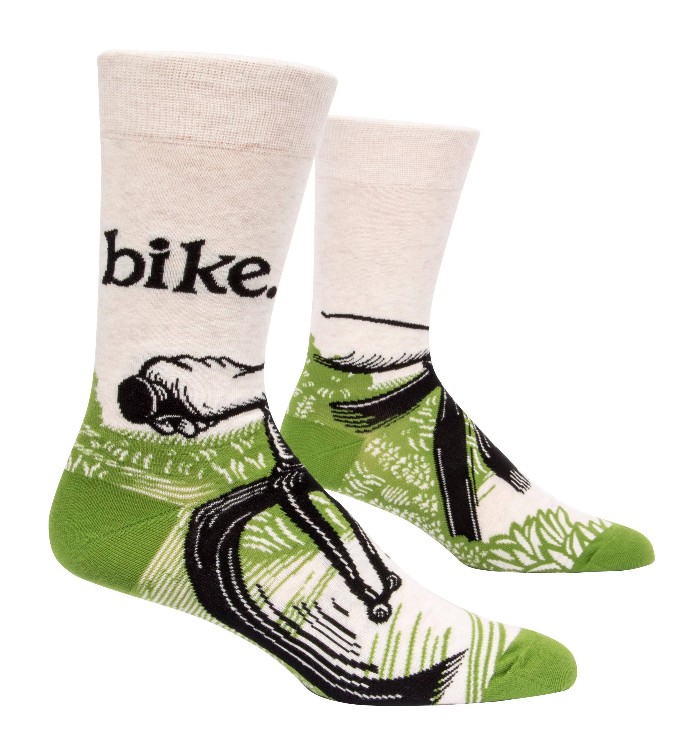 Blue Q - Bike Path Crew Socks | Men's