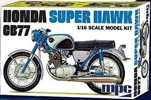 MPC 898 1/16 Honda Super Hawk Motorcycle Model Kit