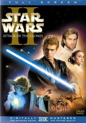Star Wars Episode II Attack of the Clones DVD 2 Disc Set
