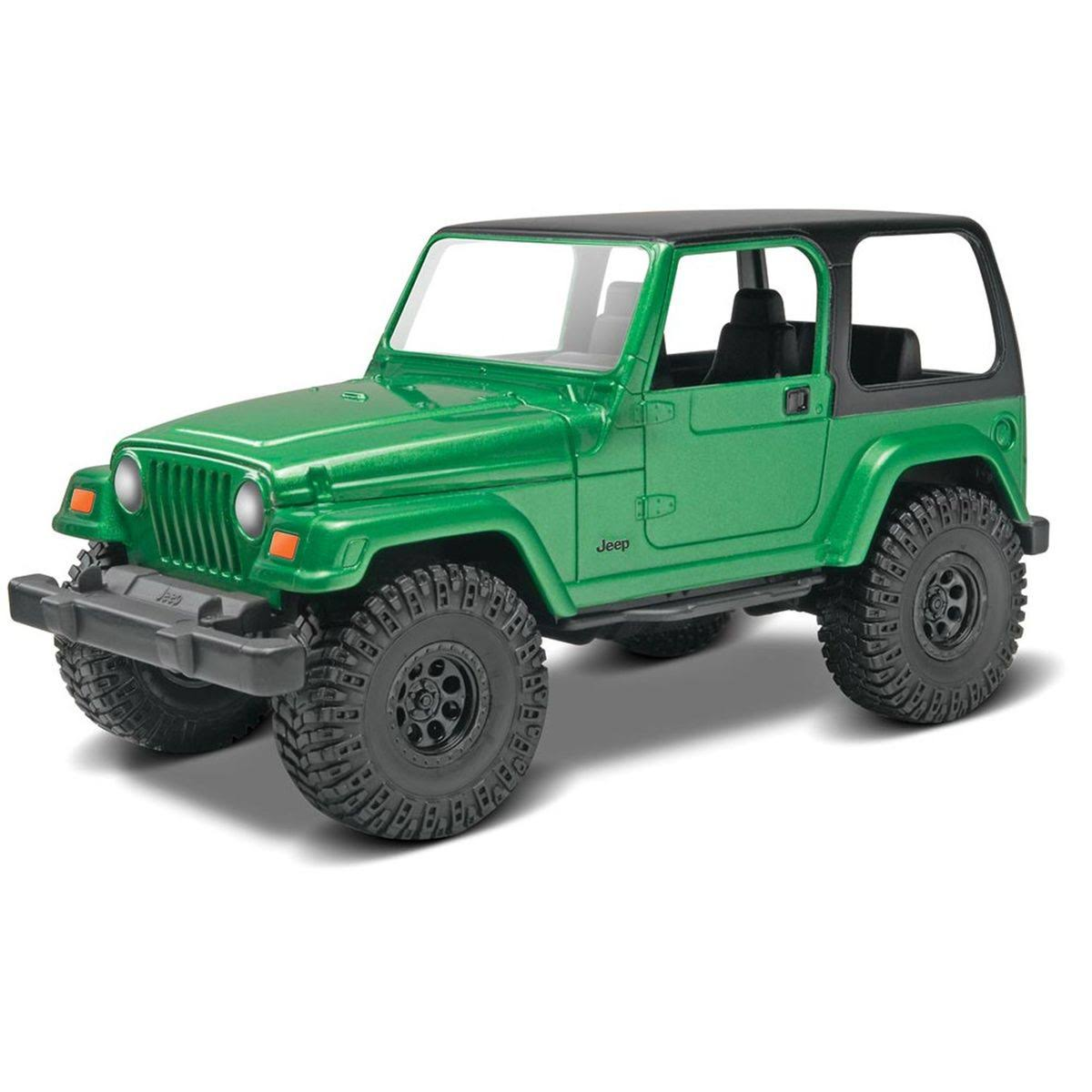 Revell Rmx1636 Jeep Wrangler Rubicon Model Kit - 1:25 Scale
