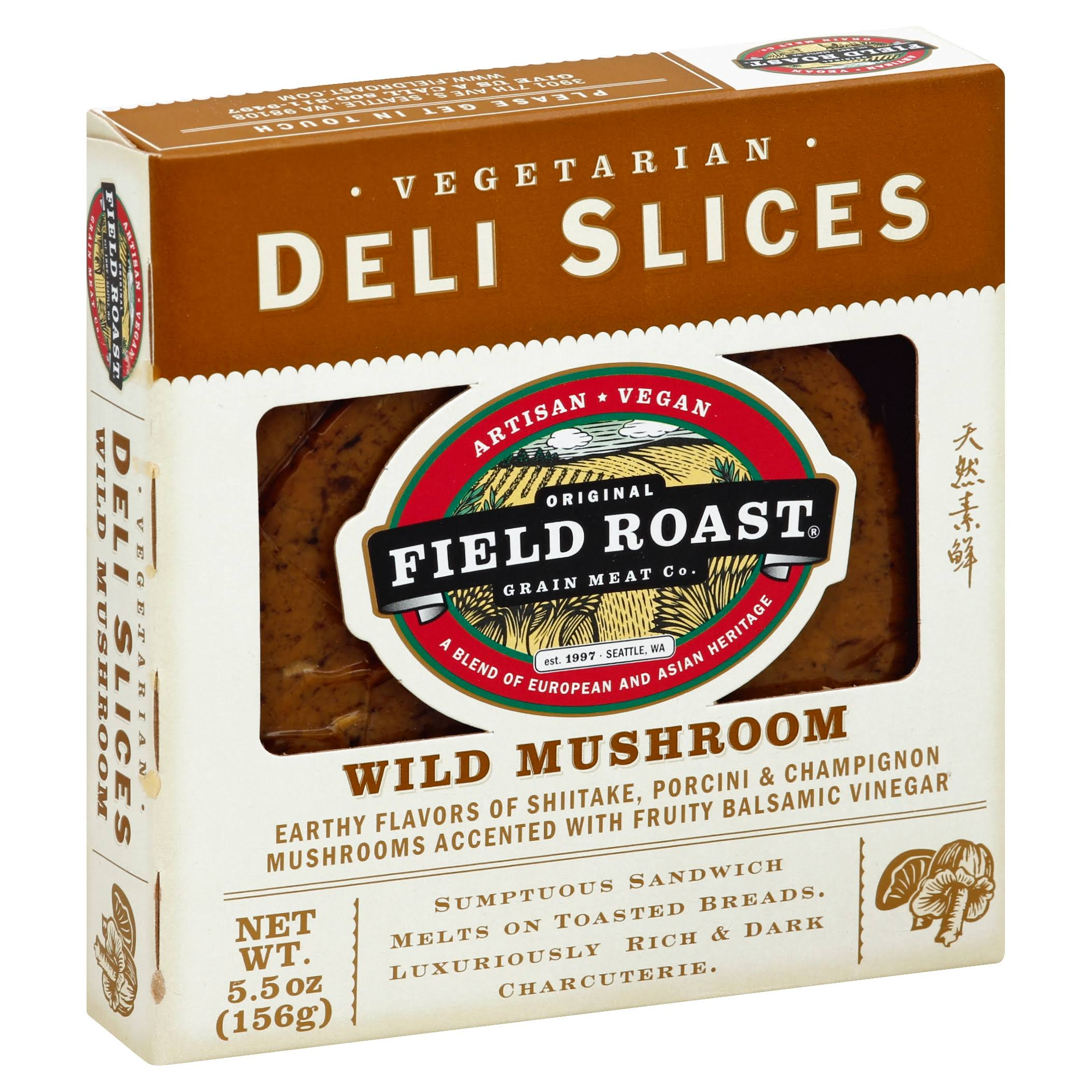 Field Roast Wild Mushroom Deli Slice - 5.5 oz total