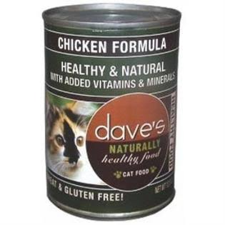 Dave's Naturally Healthy Food Cat Food - Chicken