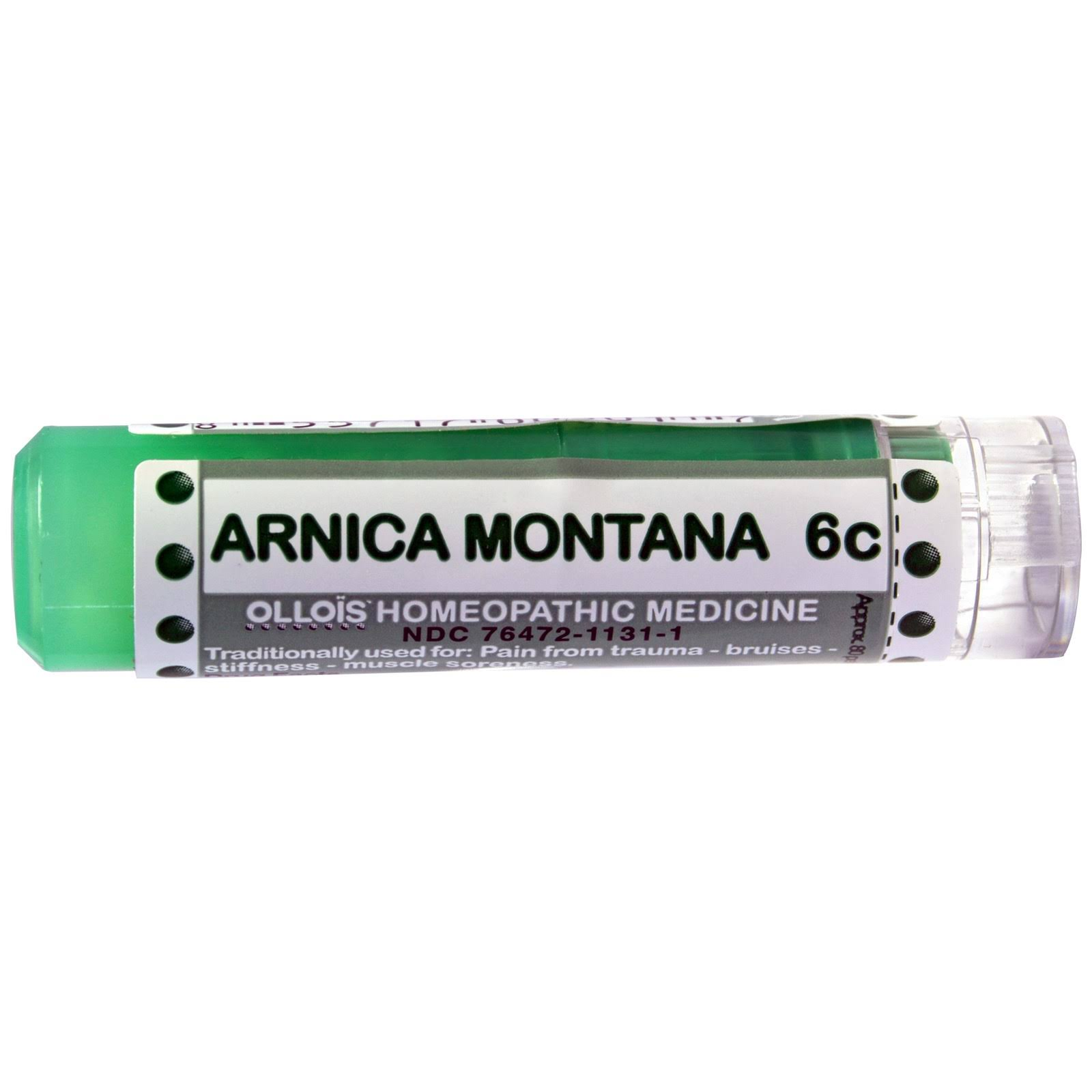 Ollois Homeopathic Medicine Arnica Montana 6c Pellets