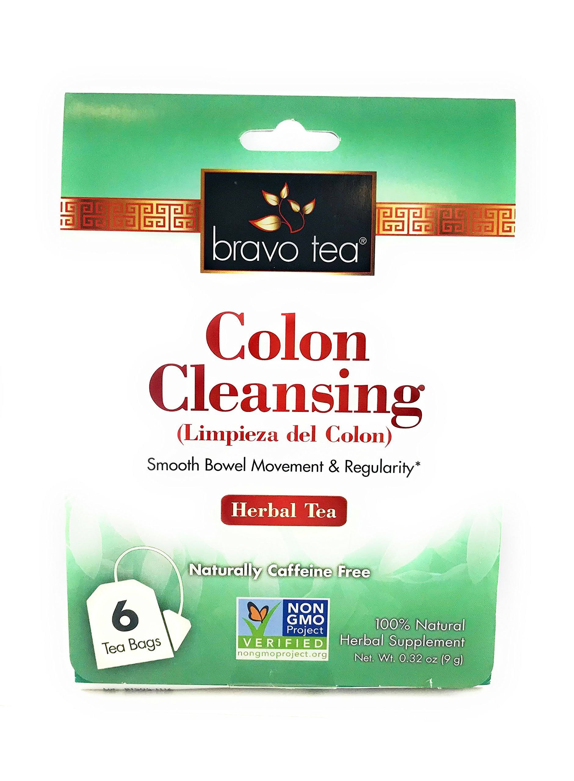 Bravo Tea Colon Cleansing Herbal Tea - 20ct