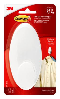 Command Clothes Hanger - Large, White