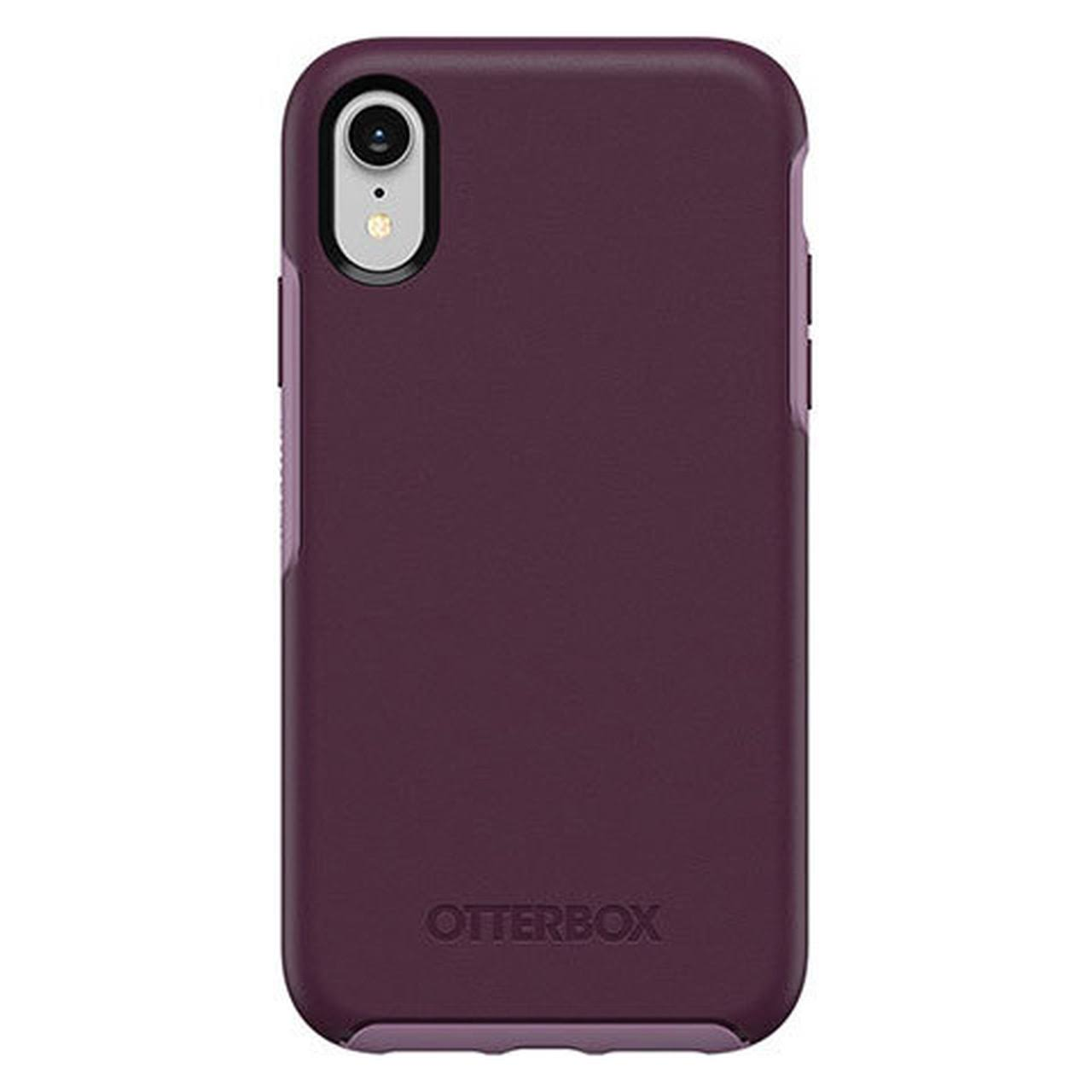 OtterBox iPhone XR Symmetry Series Case - Tonic Violet Bloom