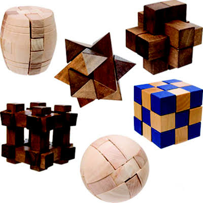 Toysmith Puzzles - Mini Wood Puzzle