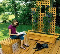 36 best planter bench plans images on pinterest planter bench