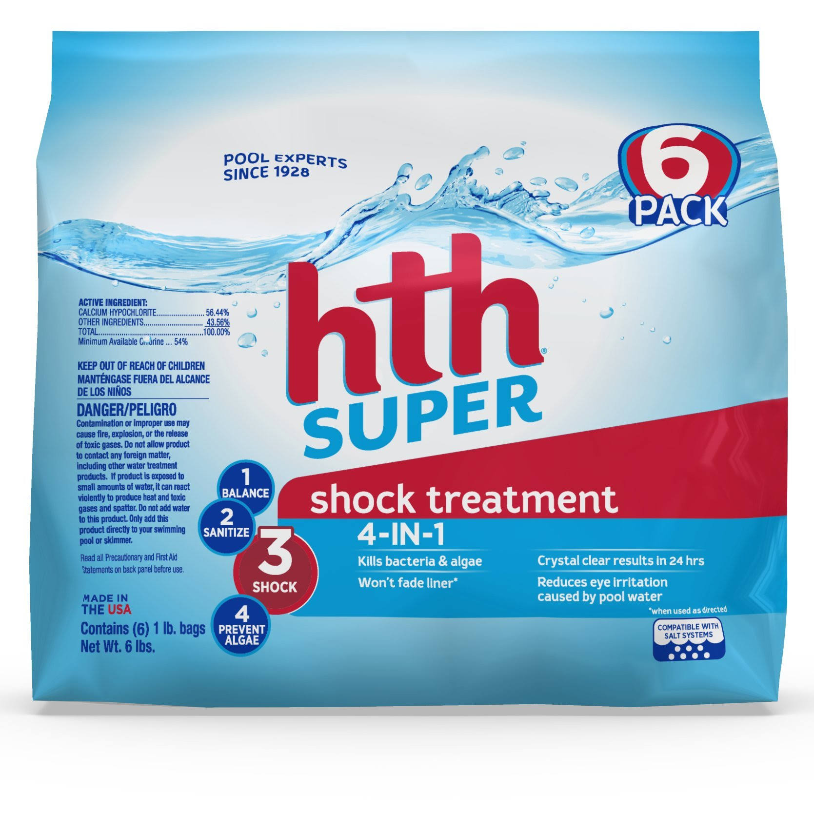 HTH Super Shock Treatment - 6 Pack