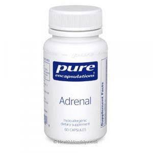 Pure Encapsulations Adrenal Supplement - 60ct