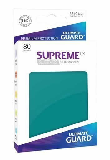 Ultimate Guard: Supreme UX Standard - Petrol Blue