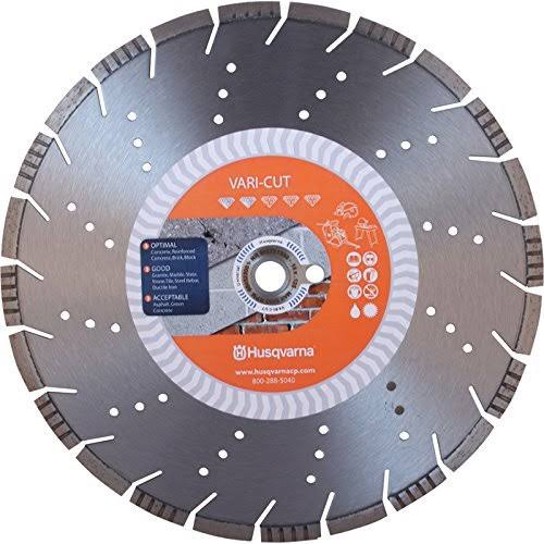 "12"" Husqvarna 542751358 Vari-Cut Diamond Saw Blade Wet/Dry"