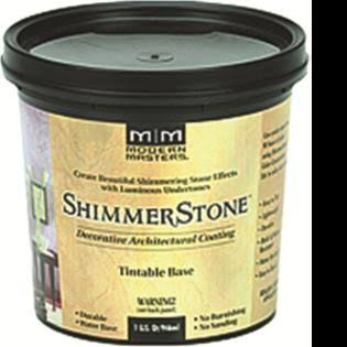 Modern Masters SS1001-GAL Shimmer Stone Tint Base - 1gal