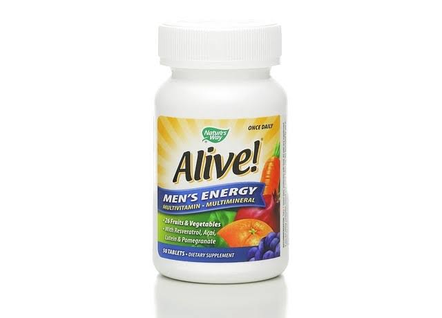 Natures way Alive Mens Energy Multivitamin - 50tab