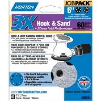 Norton 3308210 Sanding Disc 5 in 60 Grit