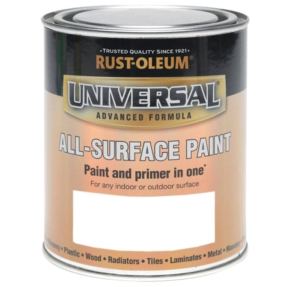 Rust-Oleum 750ml Universal Paint - Matt White