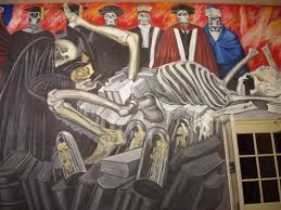 David Alfaro Siqueiros Famous Murals by David Alfaro Siqueiros From The Dictatorship Of Porfirio Diaz To