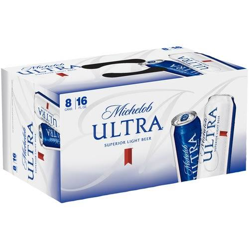Michelob Ultra Light Beer - 8pk, 16oz