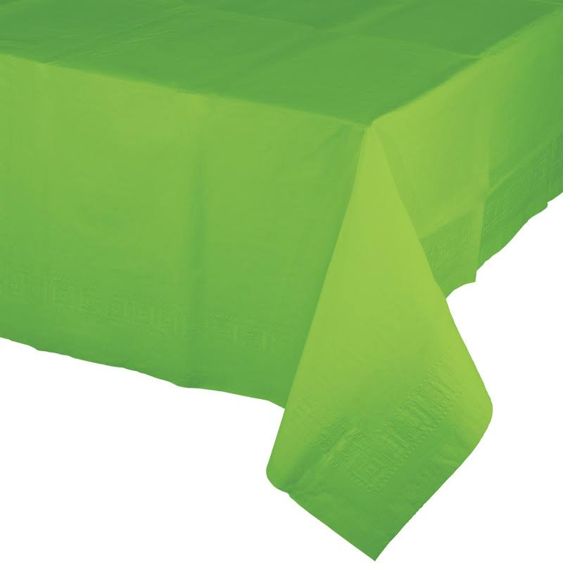 Fresh Lime Paper Tablecovers