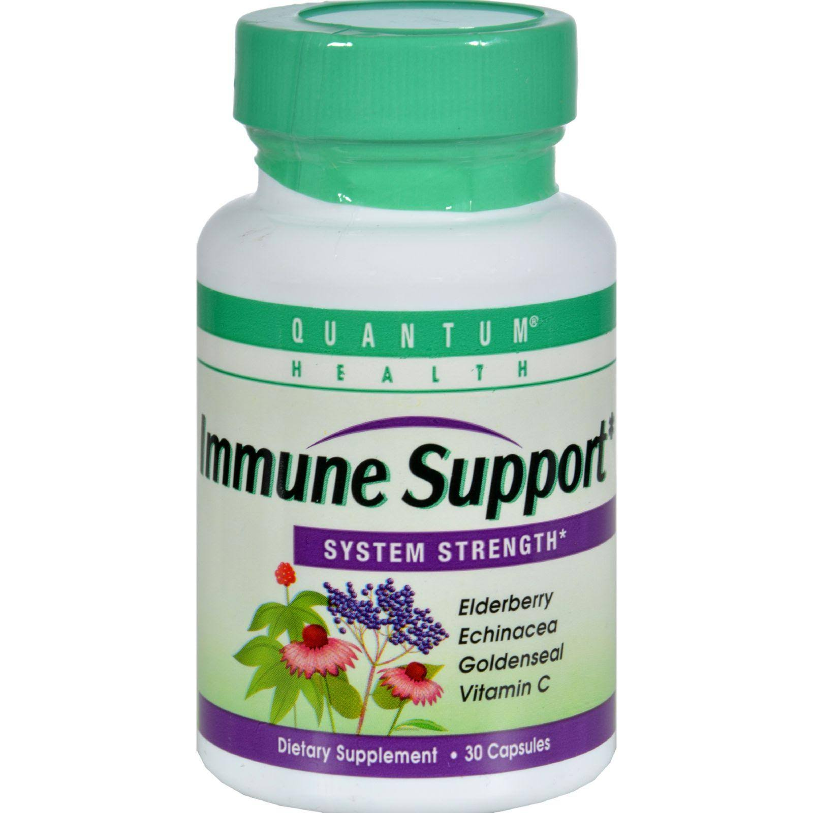 Quantum Health Immune Support System Dietary Supplement - 30 Capsules