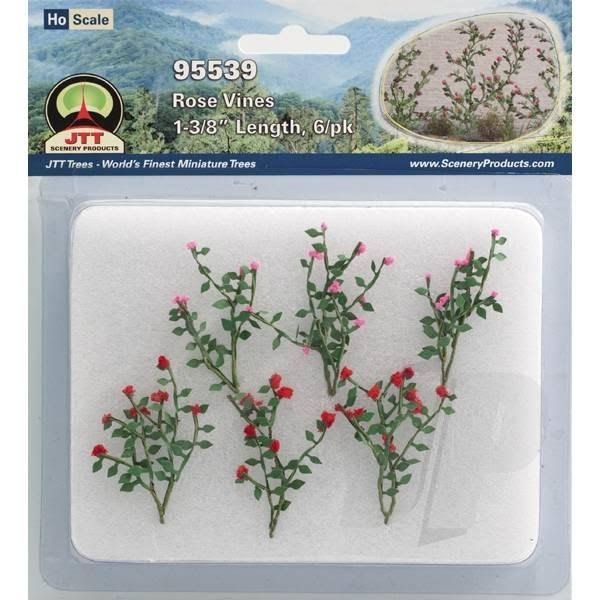 JTT Scenery Products Flowering Plants Rose Vines