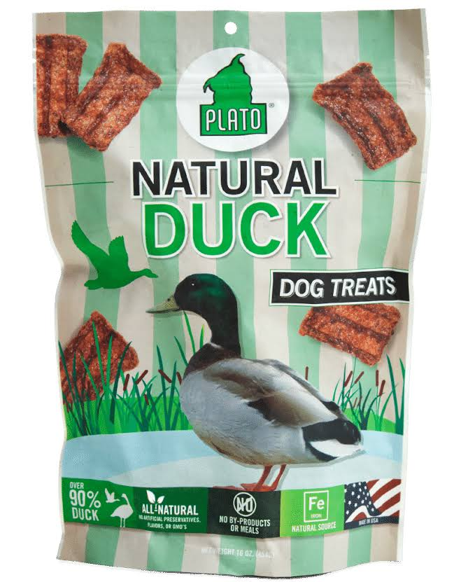Plato Dog Treats - Duck