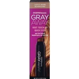 Gray Away Women's Quick Stick - Lightest Brown and Medium Blonde, 0.10oz