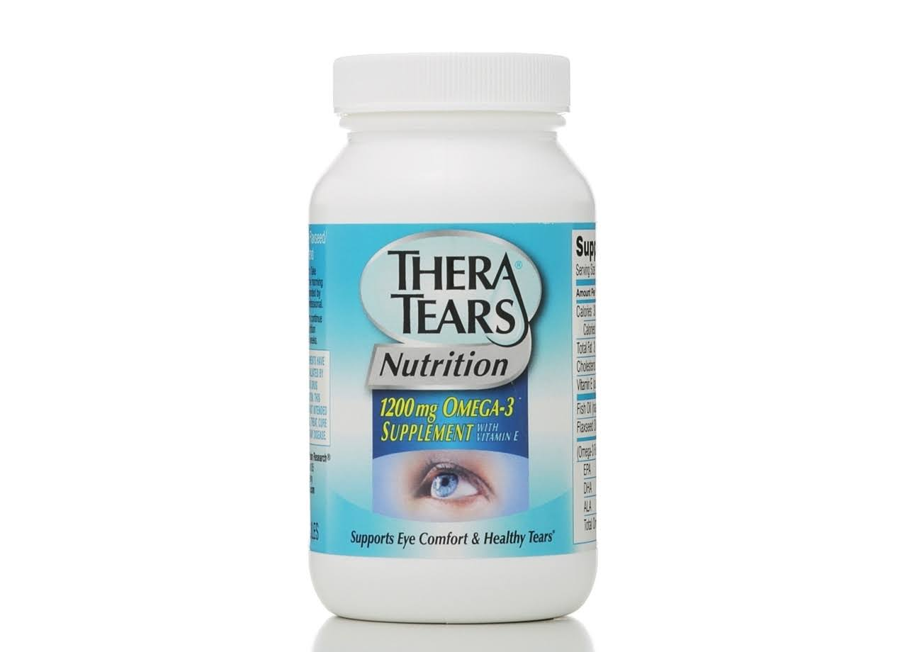 Thera Tears Eye Nutrition Soft Gels