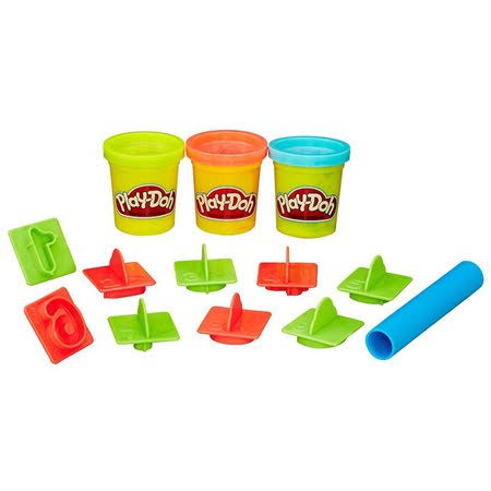 Play-Doh Fun with Numbers Bucket - 16pcs