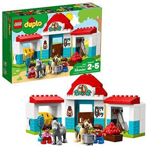 Lego Duplo Town Farm Pony Stable Building Kit - 59pcs