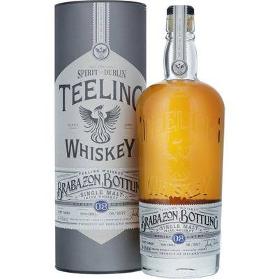 Teeling Whiskey Brabazon Bottling Single Malt Irish Whiskey - Dublin, Ireland