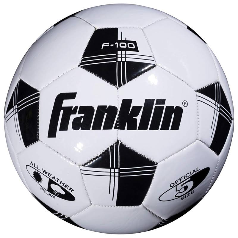 Franklin Competition 100 Soccer Ball - Assorted Colors, Size 5