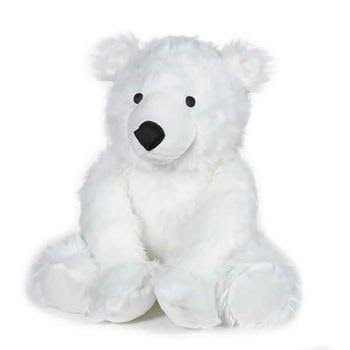 Grriggles Arctic Buddies Polar Bear Toy for Dogs - X-Large