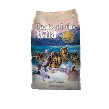 Taste of The Wild Wetlands Dry Dog Food - 14-lb