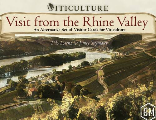 Stonemaier Games Viticulture Visit From the Rhine Valley Board Game