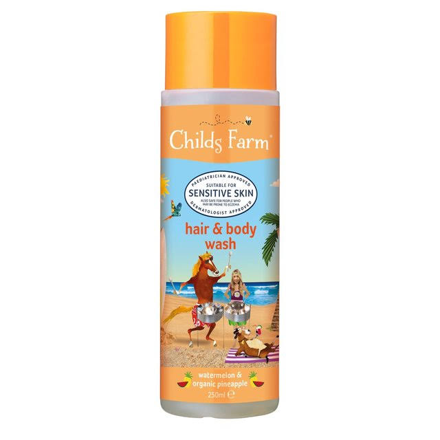 Childs Farm Hair and Body Wash - Watermelon and Organic Pineapple, 250ml
