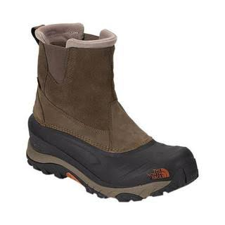 The North Face Men's Chilkat III Pull-On - Mudpack Brown & Bombay Orange - 11