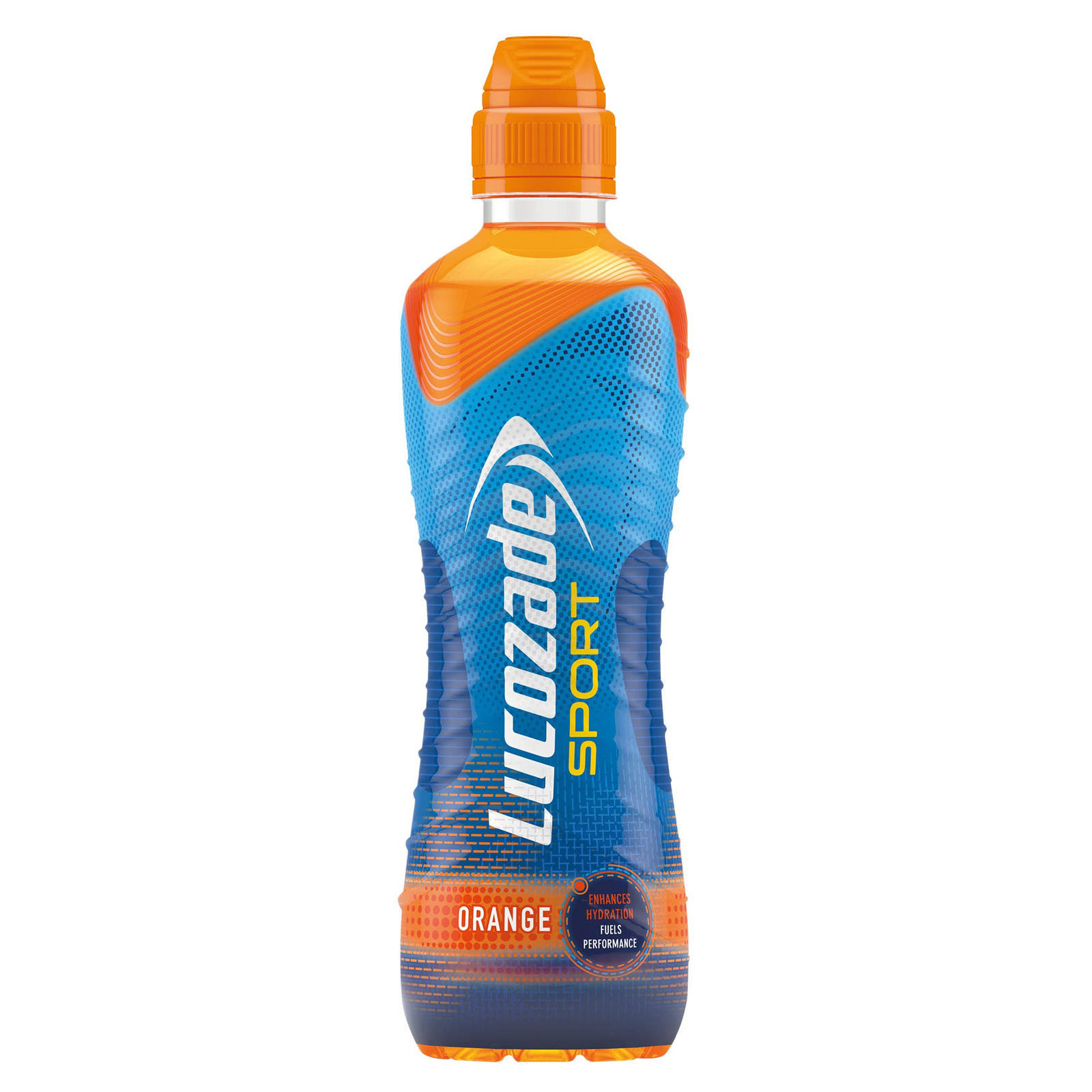 Lucozade Sport Energy Drink - Orange, 500ml
