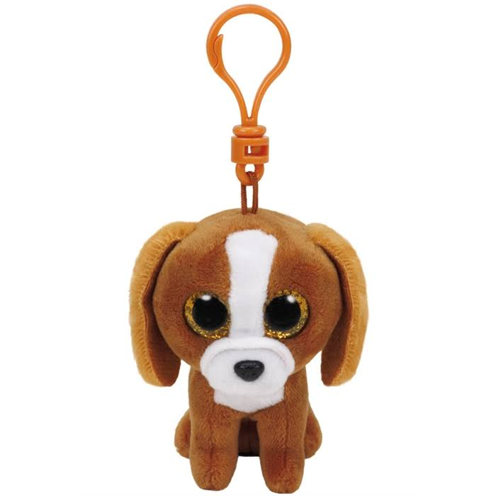Ty Beanie Boos Tala Dog Clip - Brown