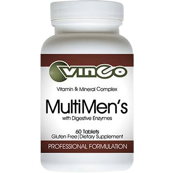 Vinco Multimen With Digestive Enzymes Dietary Supplement - 60ct