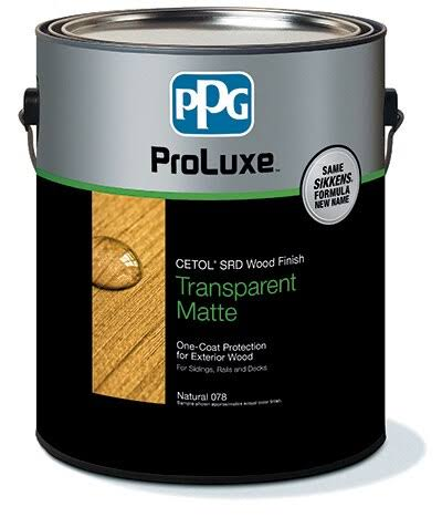 Sikkens ProLuxe Cedar Cetol Exterior Wood Finish - 1 Gallon