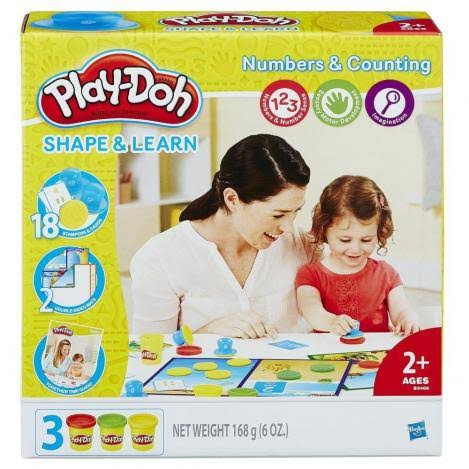 Hasbro Play-Doh Shape And Learn Numbers And Counting Creative Toy