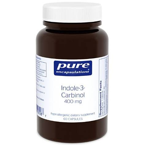 Pure Encapsulations Indole-3-Carbinol Supplement - 400mg, 60ct