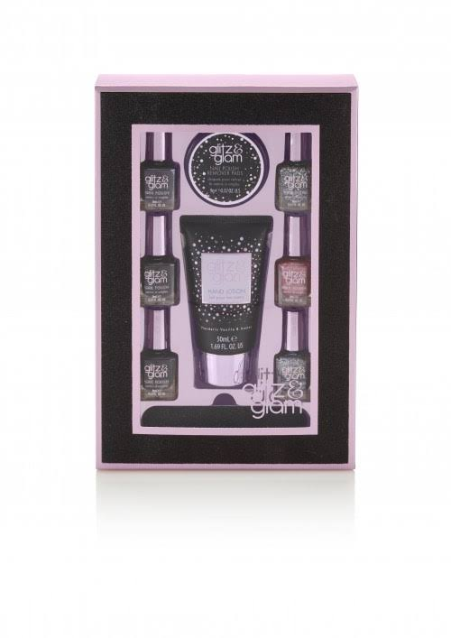 Style & Grace Glitz & Glam Perfect Mani-Care Set