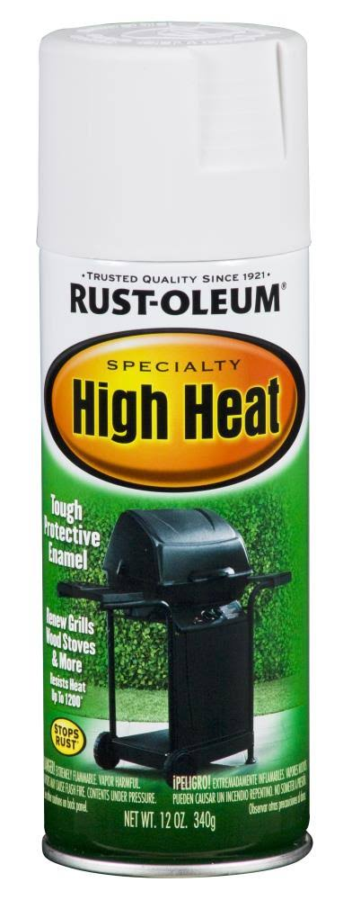 Rust-Oleum Specialty High Heat Spray Paint - 12oz, White