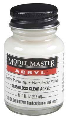 Model Master Acrylic Paint - 4638 Gloss Clear