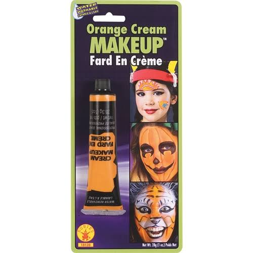Rubie's Cream Makeup - Orange