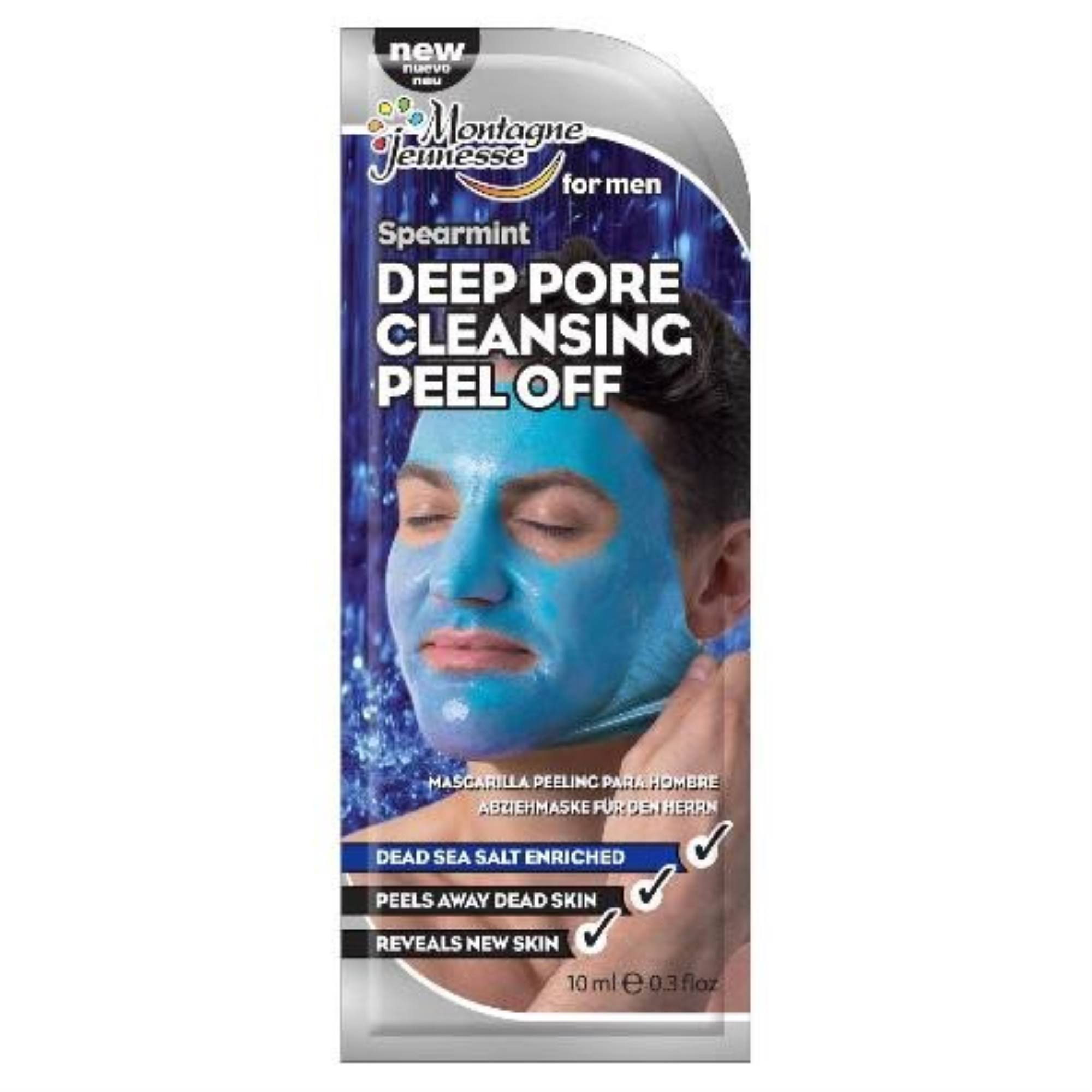 Montagne Jeunesse Deep Pore Cleansing Peel Off for Men - Spearmint, 10ml