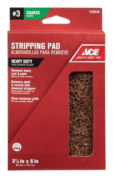 "Ace 1260538 Heavy Duty Stripping Pad - 3 7/8"" x 6"""