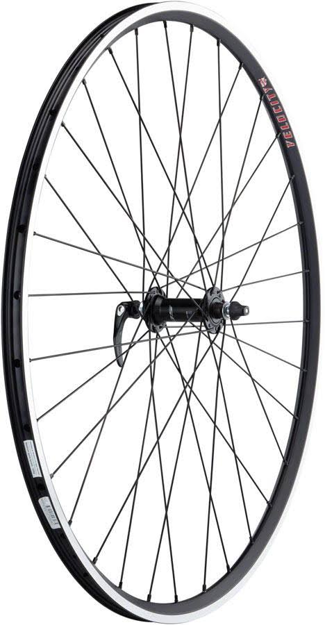 Quality Wheels 105/A23 Front Wheel - 700 QR x 100mm Rim Brake Black